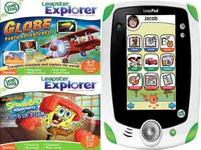 LeapPad Explorer(リープパッド エクスプローラー)は子供用タブレットPC(Tablet PC)?子供用のタブレットPC(Tablet PC)LeapPad Explorer(リープパッド エクスプローラー)?