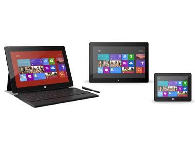 マイクロソフトタブレットSurface(サーフェス)次期モデル準備中、マイクロソフトタブレット256GB Surface Pro(サーフェスプロ)発売